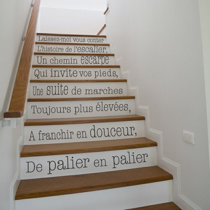 contremarche-escalier-idée-déco-1 | Idées pour la maison en 2019 ...