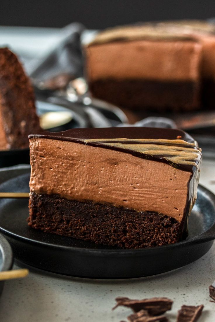 Chocolate mousse mud cake easy chocolate mousse