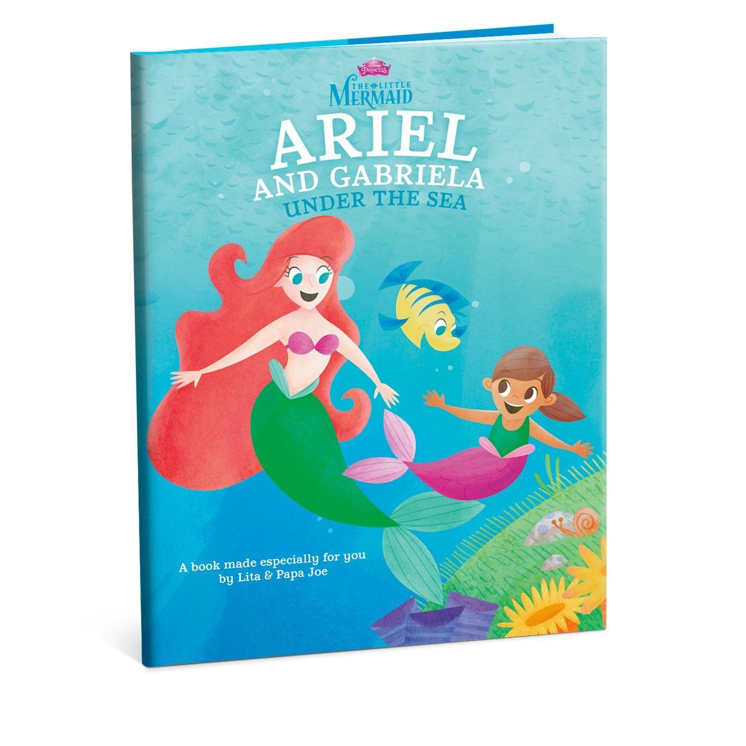 The Little Mermaid Ariel Personalized Book Soooo Doing