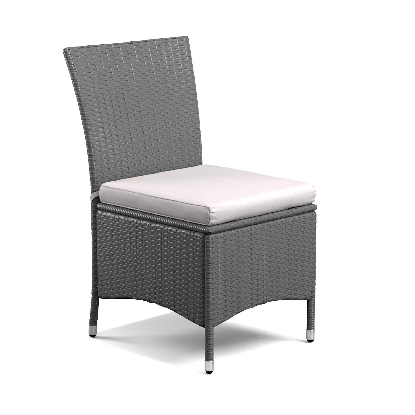 Handy Living Hudson Indoor/Outdoor Armless Dining Chair