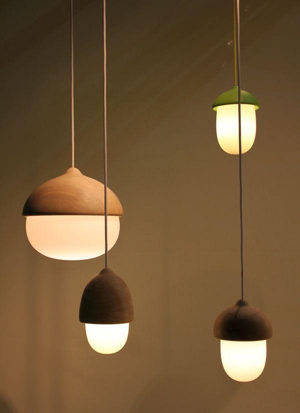 Terho et Tatti lampes natures par Maija Puoskari
