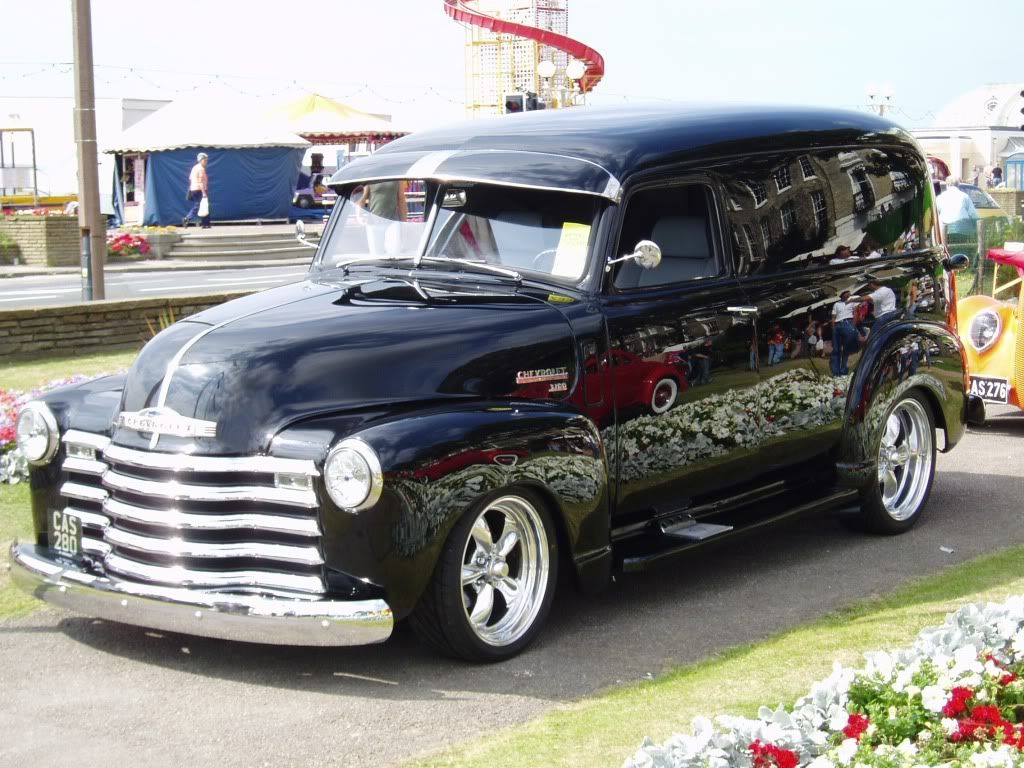 Truck 1948 chevy panel truck : Features **1941-1946 Chevy Truck Picture Thread** - Page 10 - THE ...