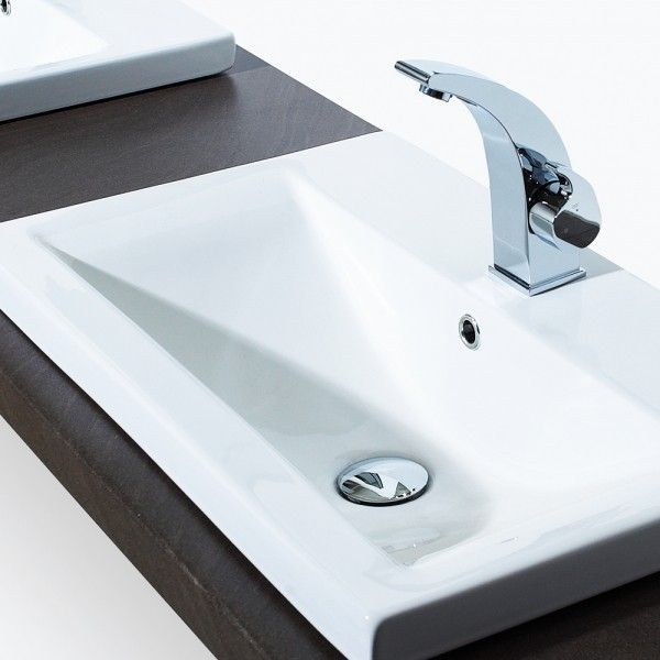 Ceramic Inset Vanity Basin Makes Your Bathroom Really Stand Out