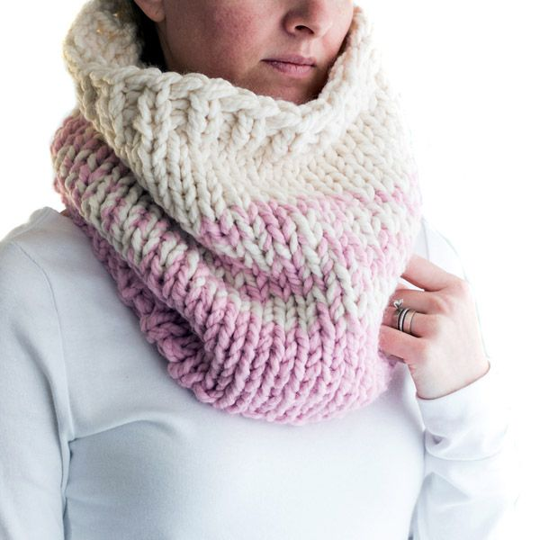 The Best Super Chunky Cowl Knitting Pattern Knit Cowls