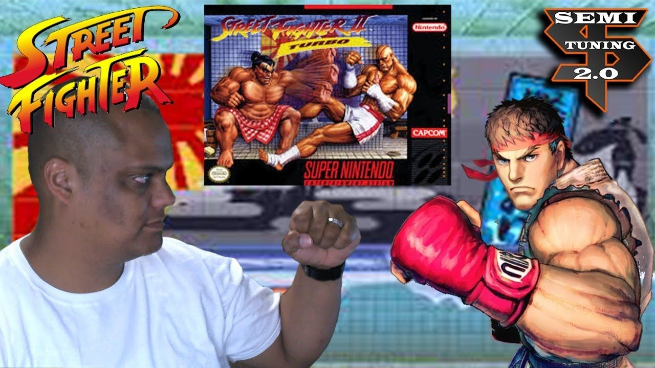 Playing Street Fighter 2 Turbo on the Super Nintendo April 2018