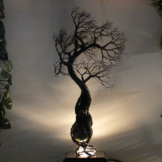 Wire Tree Of Life Elder WiNd Spirits sculpture by CrowsFeathers