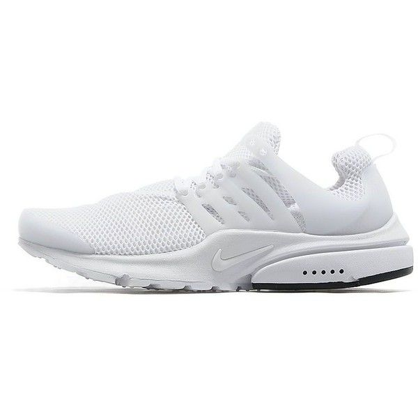 Nike Air Presto (€110) ❤ liked on Polyvore featuring men's fashion, men's shoes, men's athletic shoes, white, mens white shoes, mens shoes, mens athletic shoes, mens lightweight running shoes and mens white athletic shoes