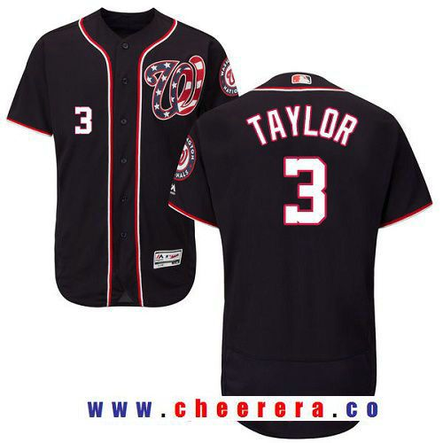 e7ae376ecb7 ... new arrivals mens washington nationals 3 michael taylor navy blue  alternate stitched mlb majestic flex base
