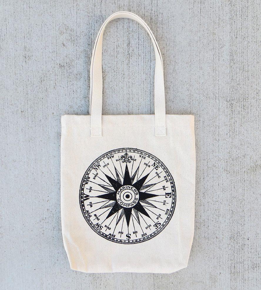 ff296d200c Compass Canvas Tote Bag