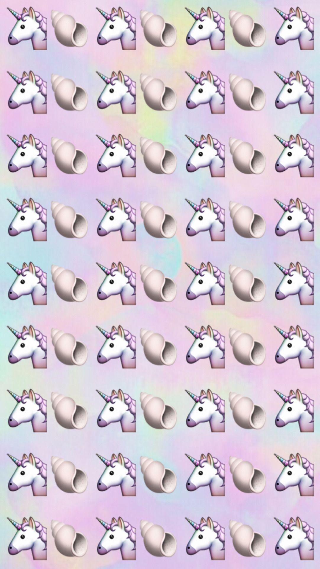 Wallpaper iphone tumblr unicorn - Unicorn Emoji Backgrounds Like If You Save Use A