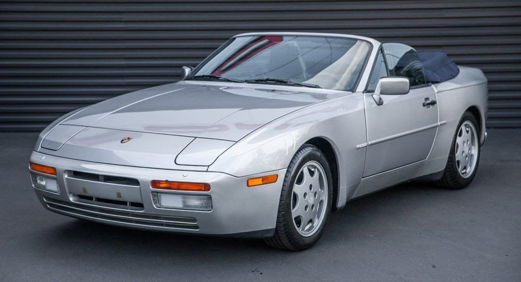 1990 Porsche 944 S2 Cabriolet Has Just 4.5k Miles On The