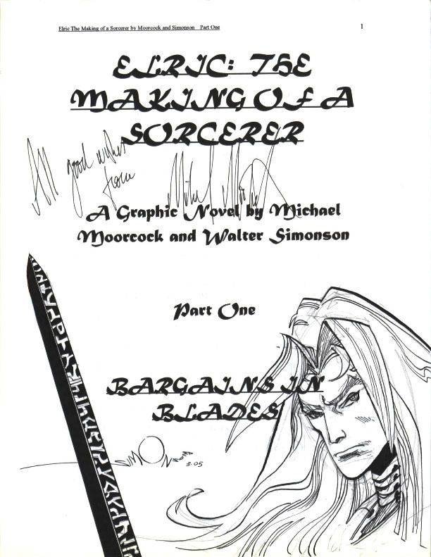 Elric The Making of a Sorcerer