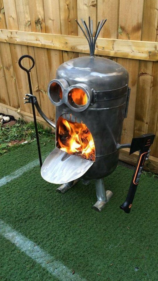Photo of minion-fire-pit.jpg 539×960 pixels #Firepit #Firepit area #Firepit diy #Firepit…