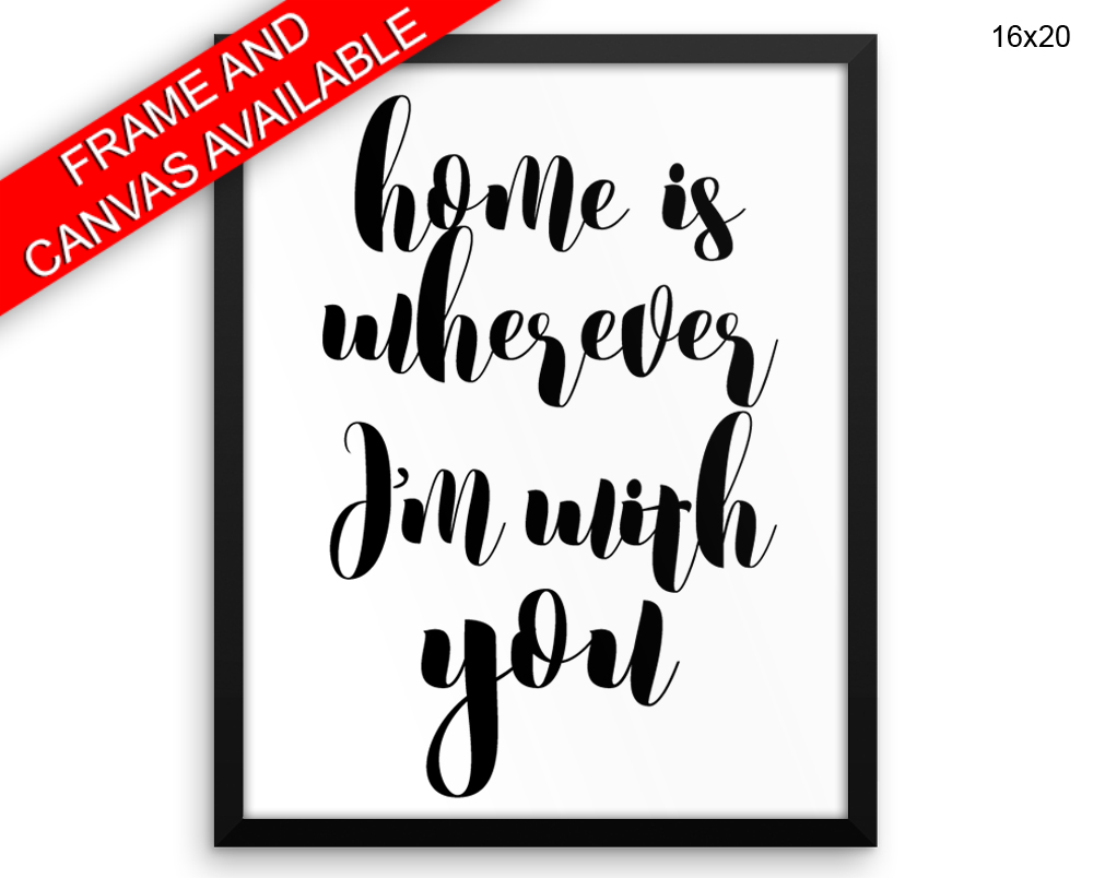 Home Canvas Art Home Printed Home Typography Art Home Typography Print Home Framed Art Home Gift For Husba Home Typography Art Digital Wall Art Wall Art Prints
