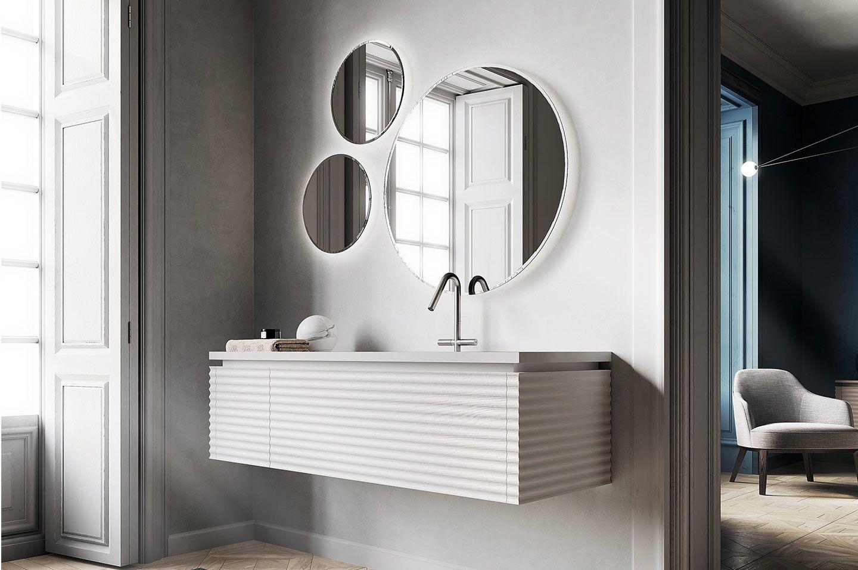 Aqua Mood Mobili Bagno.Ideagroup Bathroom Furniture Aesthetics And Innovation Dolcevita By Aqua Mobili Per Il Bagno Lavanderia Bagno Specchio Da Bagno