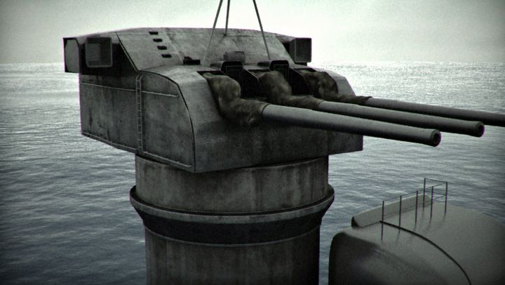 IJN Yamato secondary gun. | Imperial Japanese Navy ...