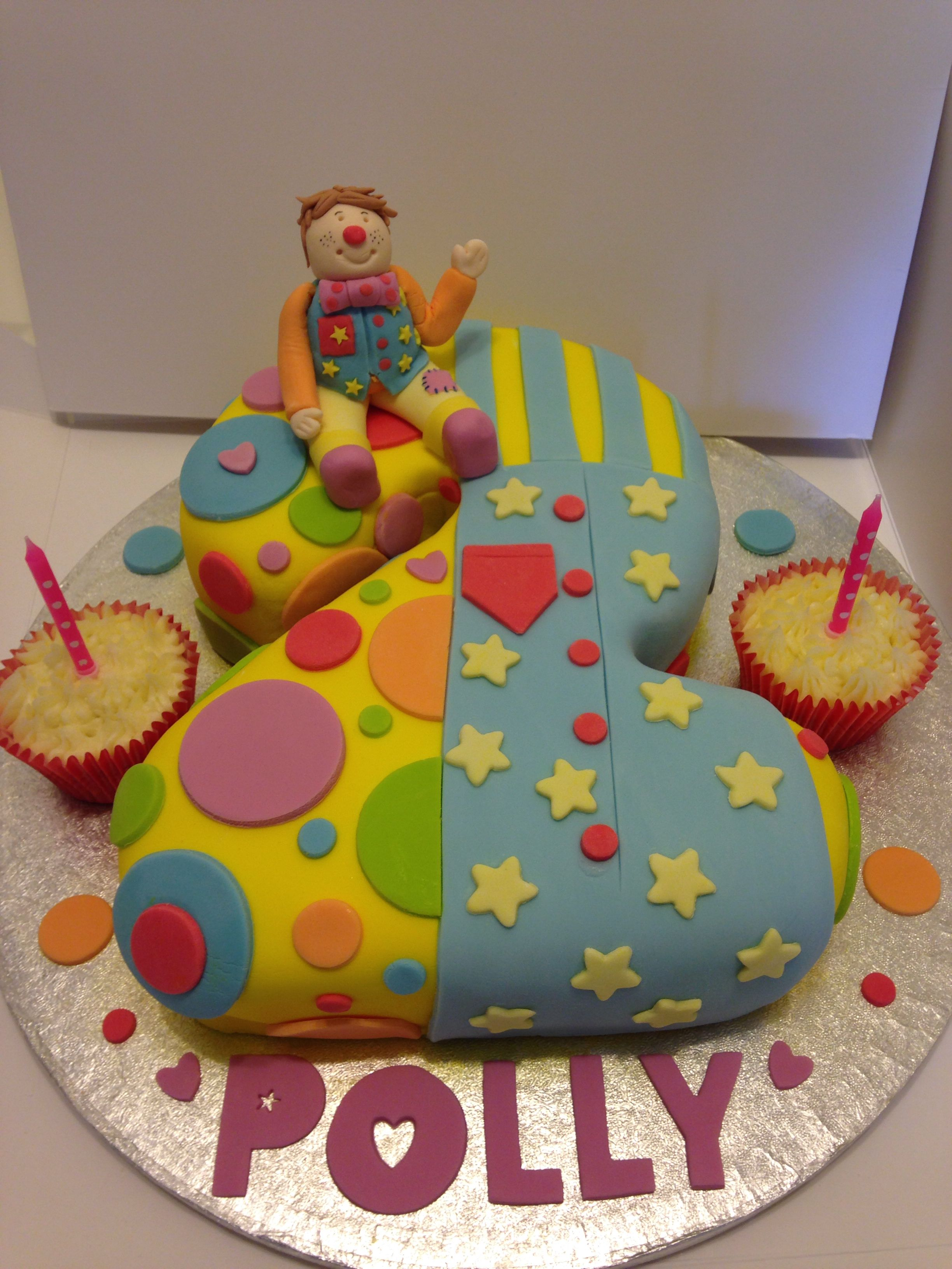 Mr Tumble Birthday Cake 2nd Birthday Cake Something Special Cake