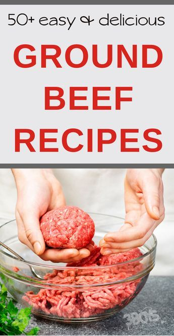 Over 50 Hamburger Meat Recipes #hamburgermeatrecipes