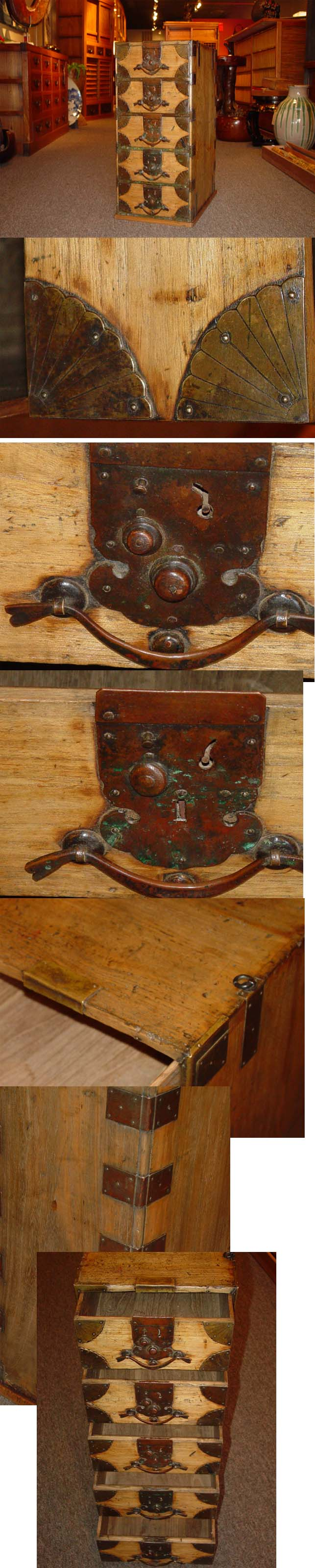 Another Nice Example Of An Antique Japanese Tansu Chest Japanese Furniture Japanese Design Japanese Traditional
