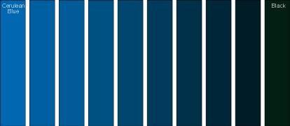 Dark Blue Color Names