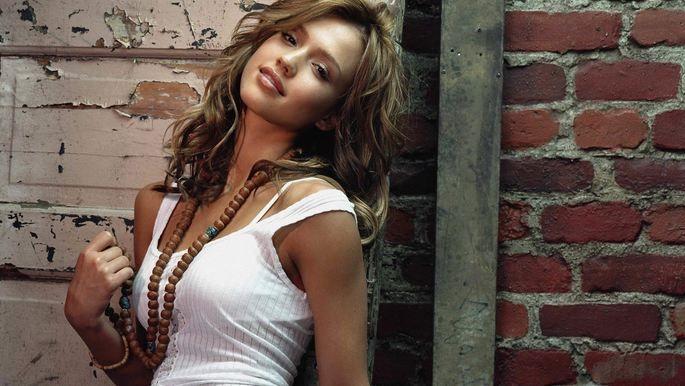 Top 10 Hottest Female Celebrities In The World Jessica Alba Hot