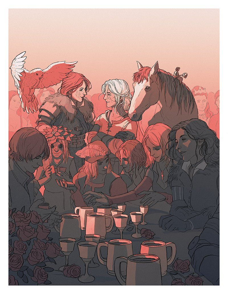 Pin By Xavier Xander On Mist Aken The Witcher Aesthetic Drawing Ciri
