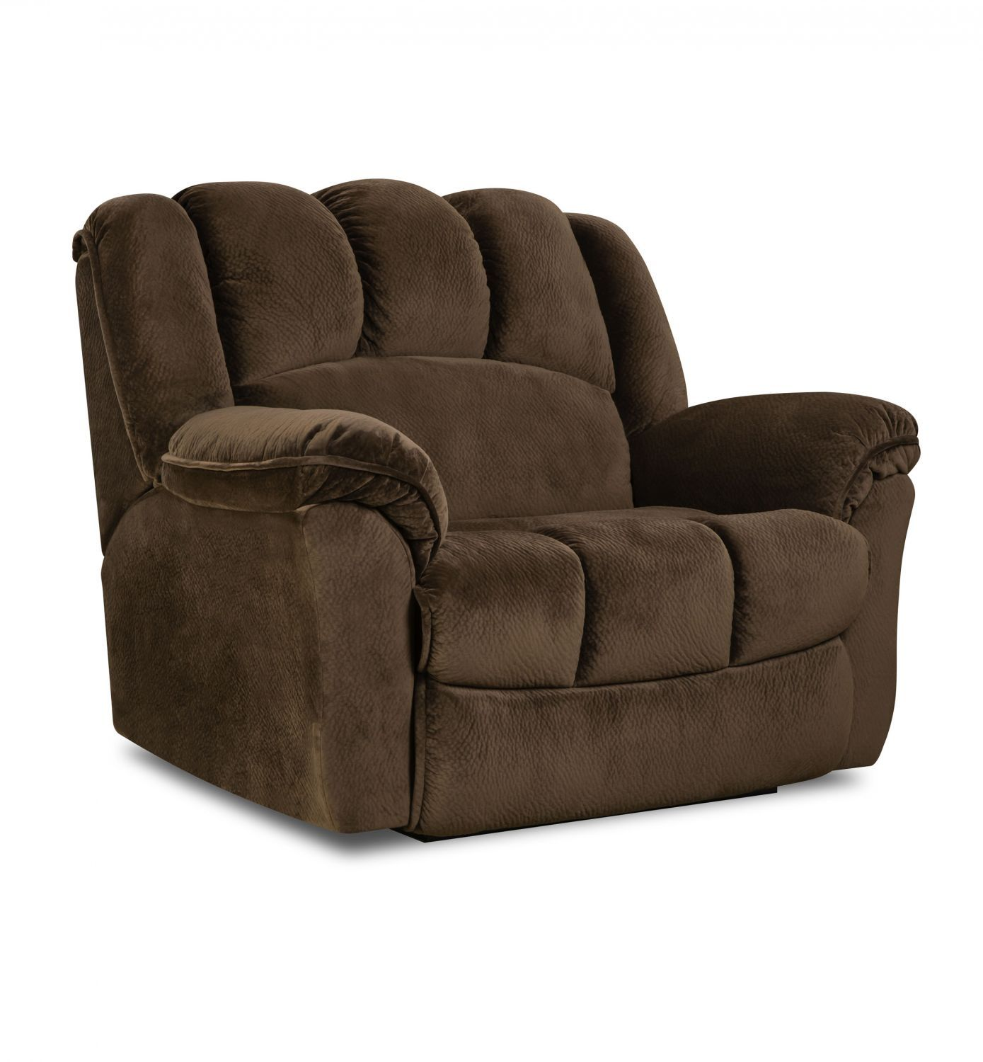 Etonnant This Oversized Snuggler Recliner Is Just Big Enough For Two, Featuring  Plush Fabric And A Full Chaise | $598 | FFO Home