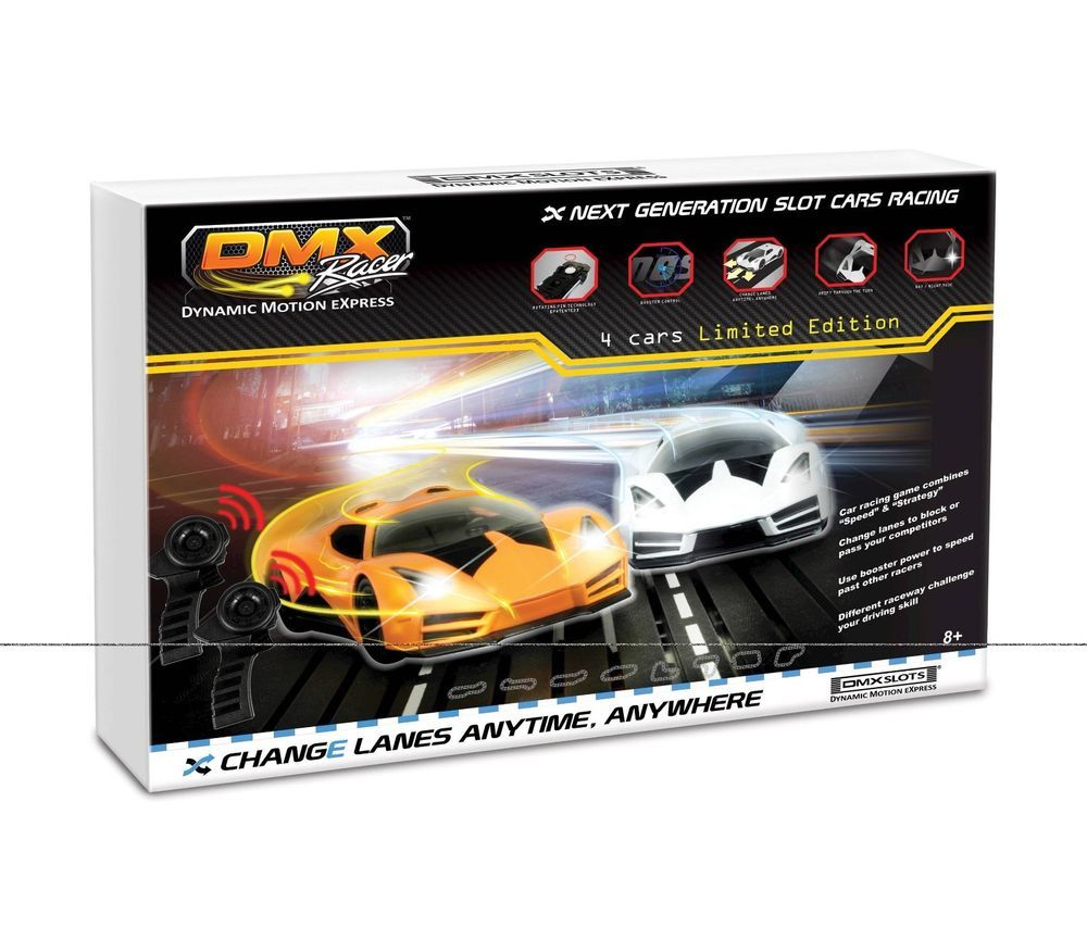 Brand New DMXSLOTS DMX Racer G2 Slot Car Racing Package