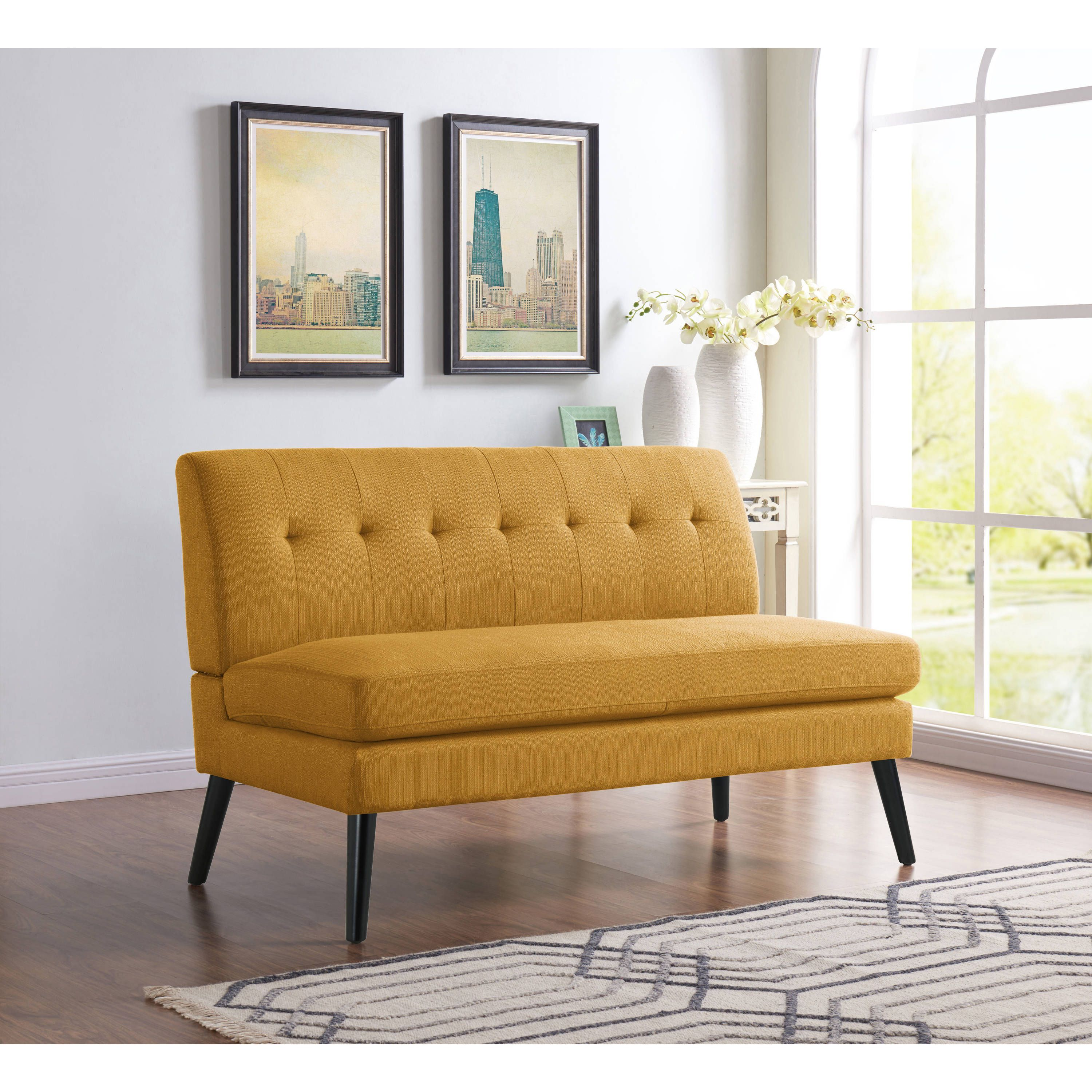 armless loveseats fabric awesome room full morrocan square seat green design ideas cushion living with beautiful sofa and love cream upholstered loveseat