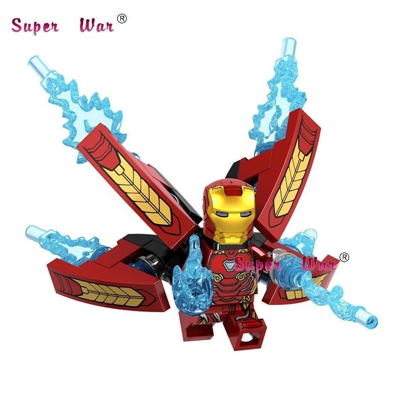 LEGO Infinity War Iron Man Minifigure 76107 Mini Fig Avengers