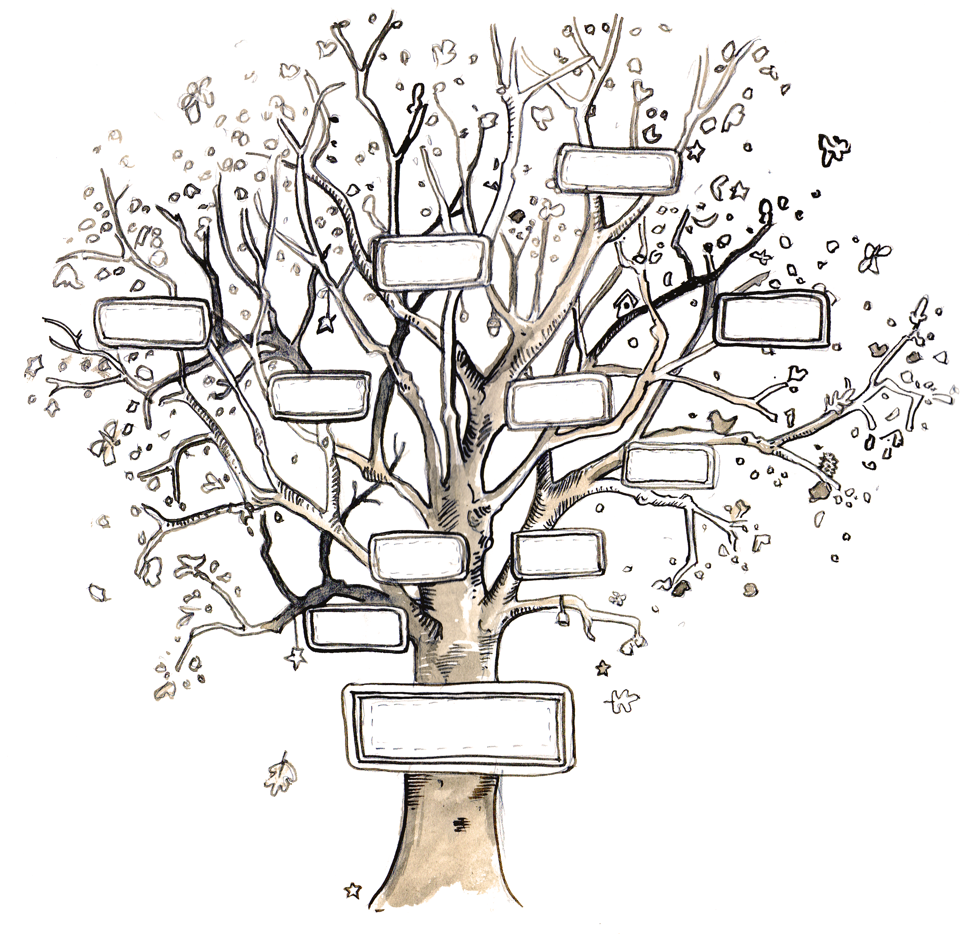 FamilyTreeBlank  Family    Family Trees Family Tree