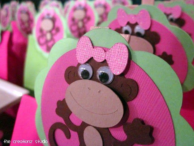 Lil' Monkey Party Favor Bags
