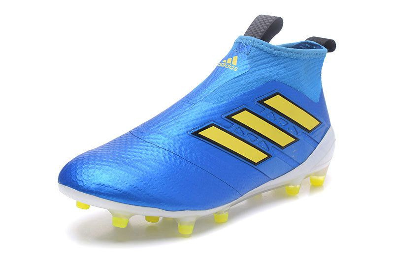 the latest 4de9c 2733d Adidas ACE 17+ Purecontrol FG 2018 Word Cup DrAG 2018 Word Cupon blue  yellow white