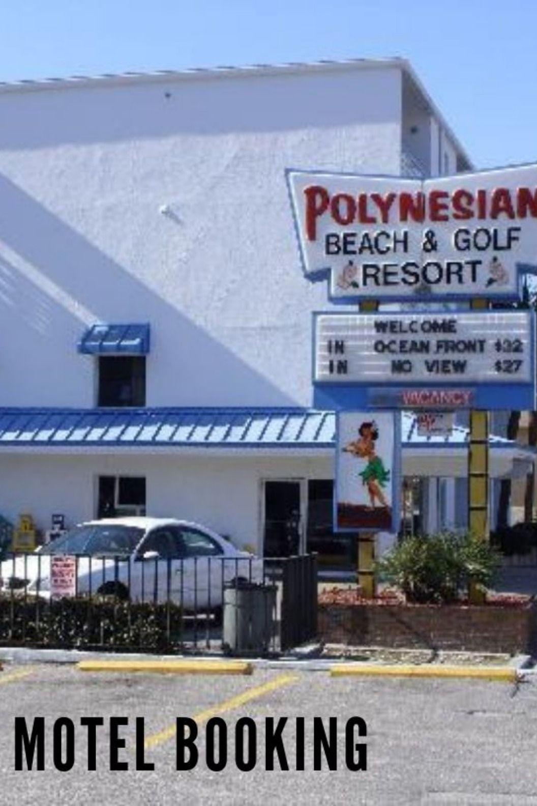 Polynesian Oceanfront Motel Cheap Motels Oceanfront Motel