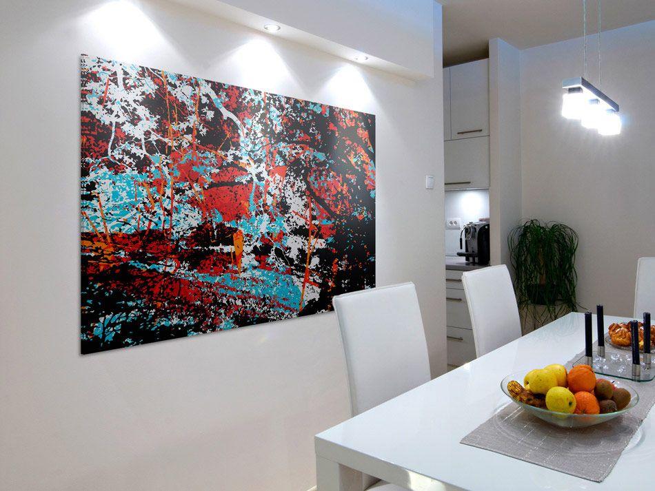 Nowoczesny Obraz Na Plotnie Abstrakcja Ogromny 4430016495 Oficjalne Archiwum Allegro Decor Home Decor Tapestry