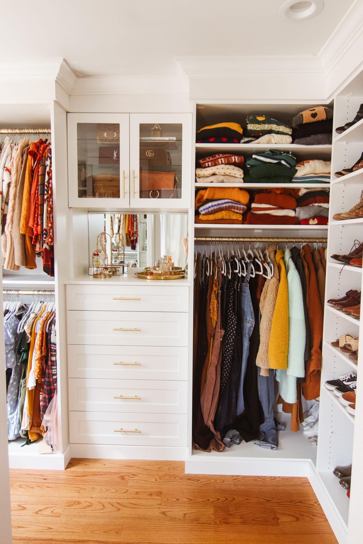 My Closet Tour In 2020 Closet Tour Home Room Design Shoe Shelf In Closet