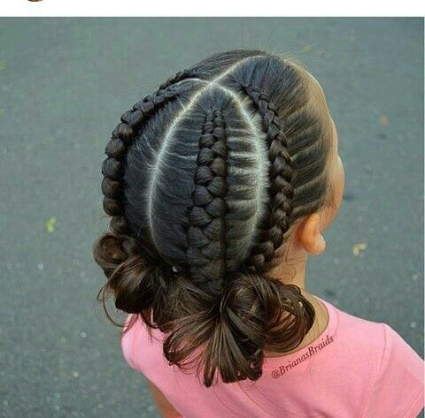 Wow So Beautifully Done Peinados Para Nina Con Cintas