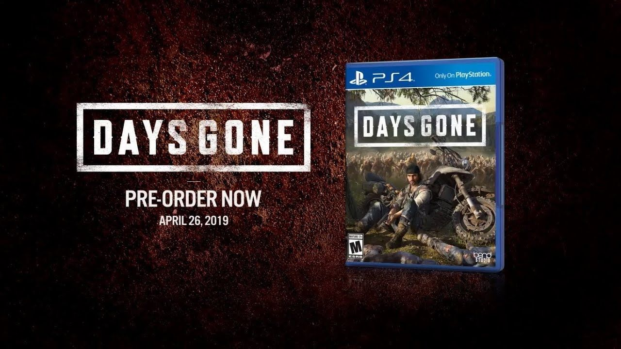Days Gone Playstation Store