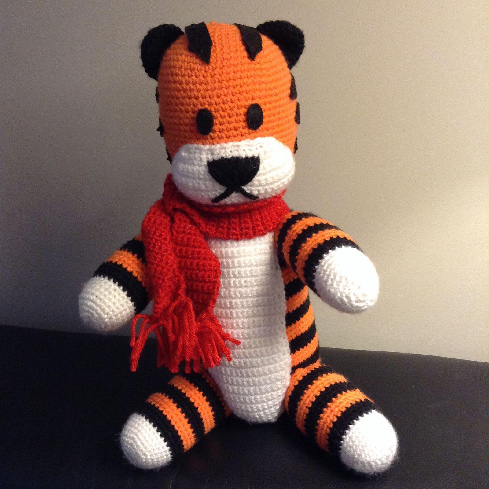 Hobbes Plush Pattern   Mia\'s Atelier   Crochet   Pinterest ...