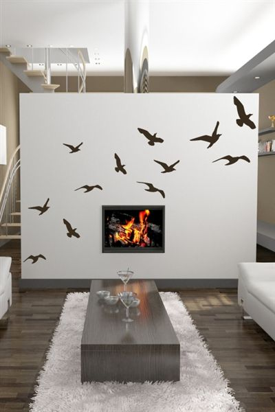 Singing Birds-Wall Decals in 2018 Wall painting ideas Pinterest