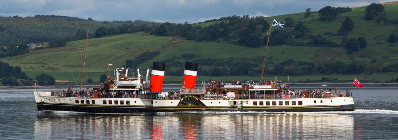 Ps Waverley Scotland Steamer Seaside Resort Paddle