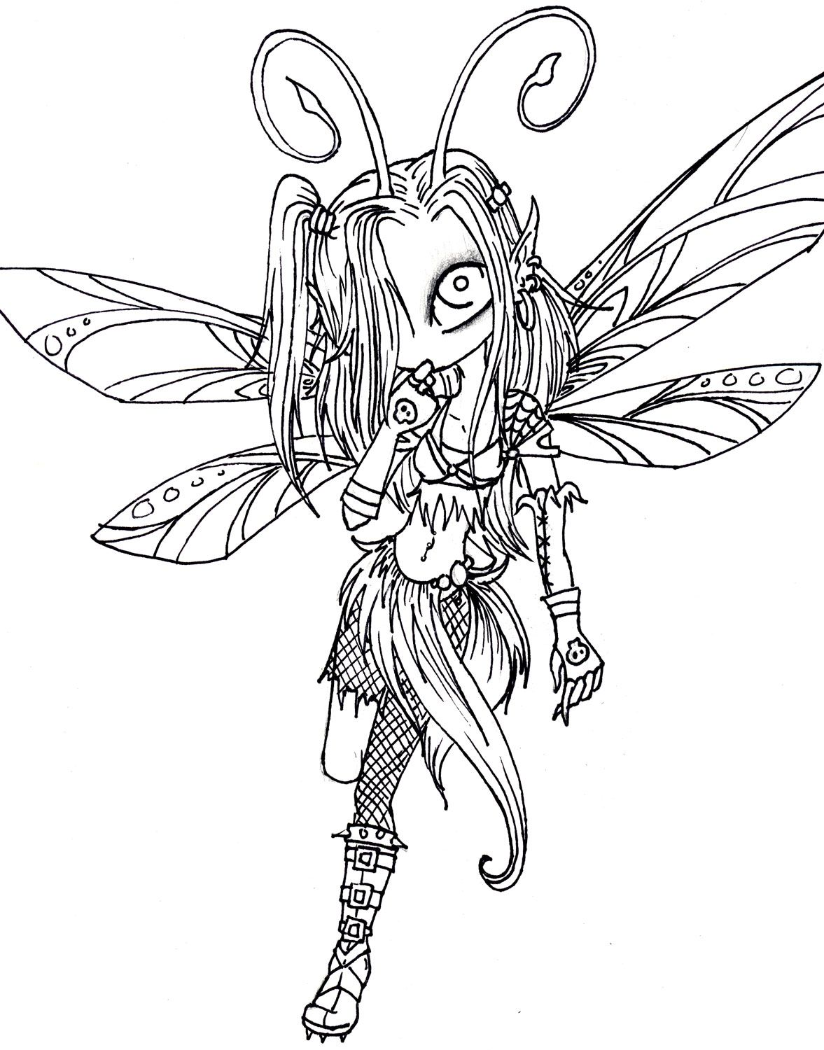 fairy and dragon coloring pages - photo#49