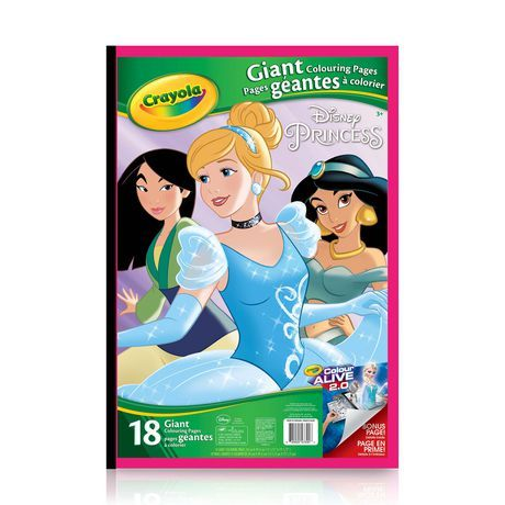 Crayola Giant Colouring Pages Princess Disney Princess Colors Disney Princess Coloring Pages Princess Coloring Pages