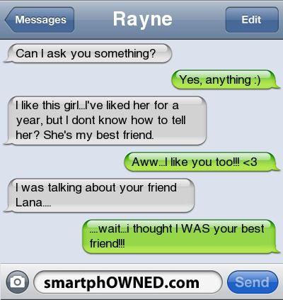 Friend Like Should I My Her Tell I