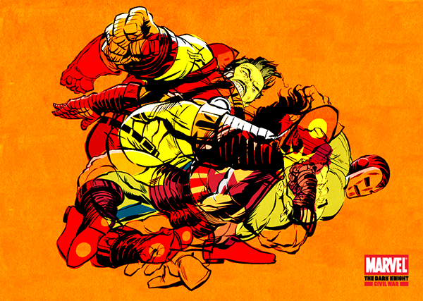 Marvel's The Dark Knight Civil War by Butcher Billy on Behance