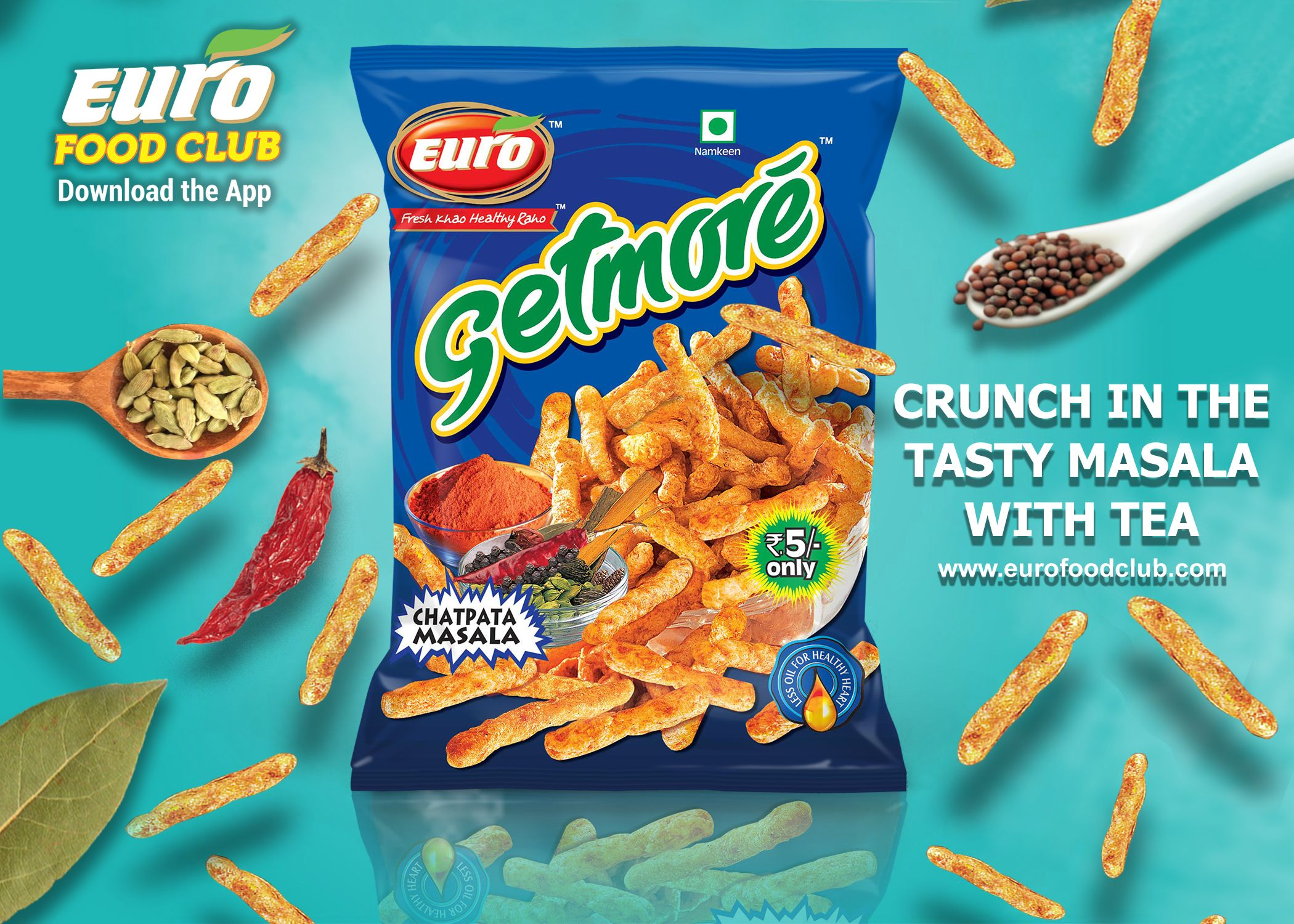 Tea breaks become best with the crunchy munches  Enjoy munch