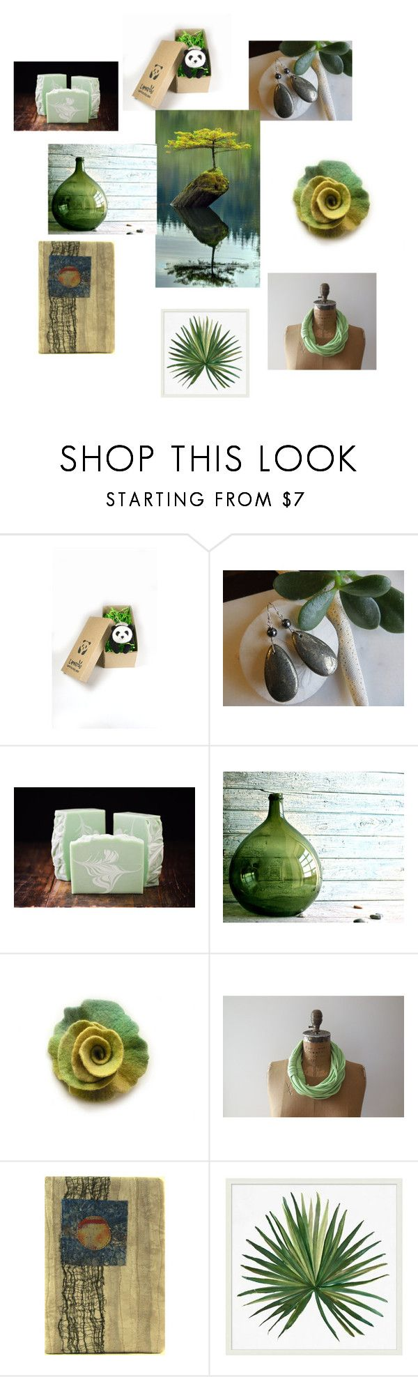 Go Green by inspiredbyten on Polyvore featuring interior, interiors ...