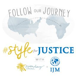 Join @NoondayStyle and @IJM as they fuse fashion and justice for the #StyleForJustice Story Team Trip to Rwanda