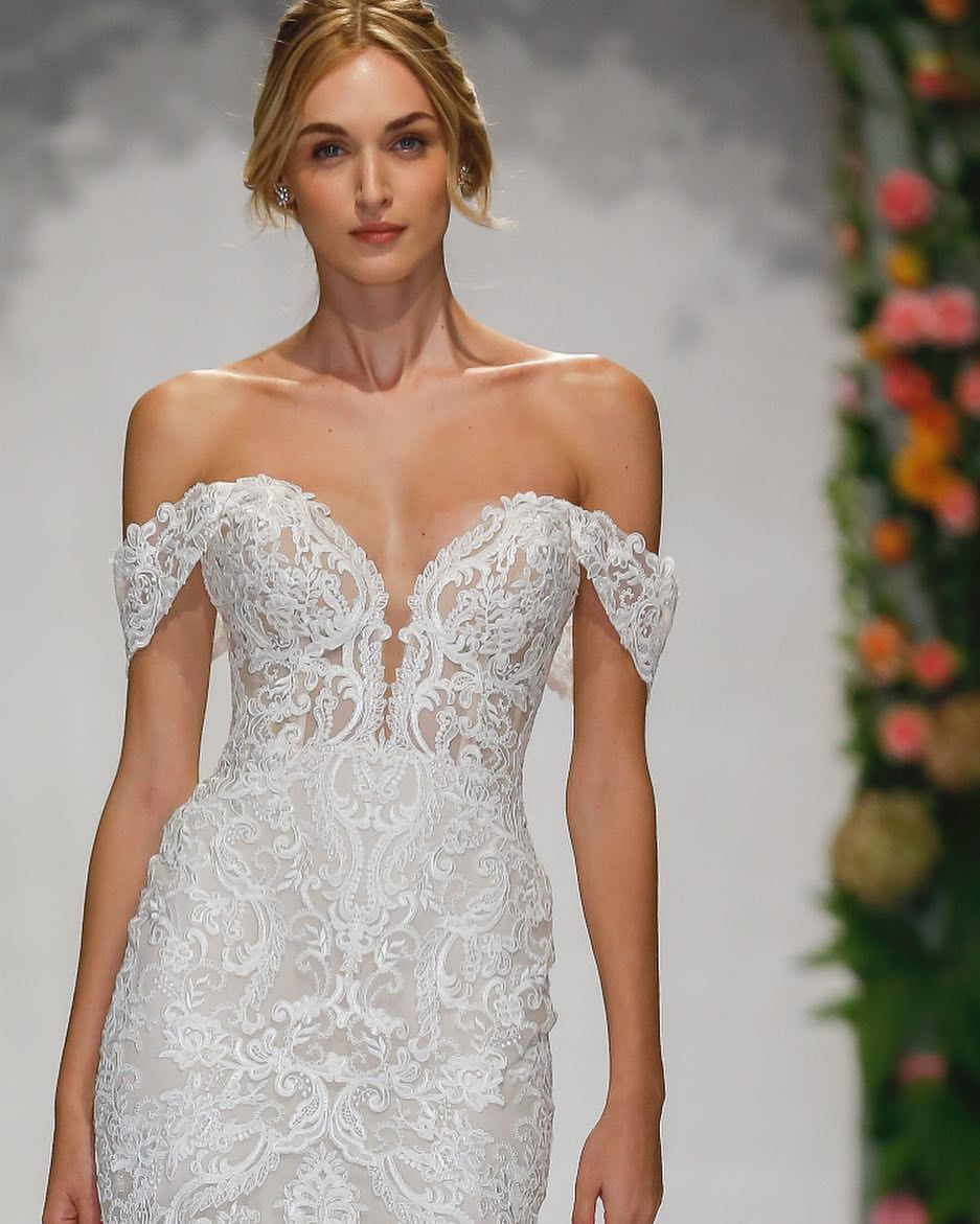 4071db00ba02 Morilee By Madeline Gardner (morileeofficial) on Somegram • Posts, Videos &  Stories #somegram Doesn't get much more #romantic than off the shoulder +  #lace ...