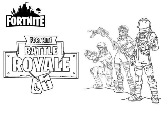 Fortnite Coloring Pages Pro Coloring Pages Free Kids
